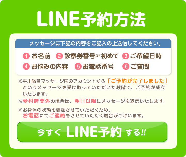 line予約方法